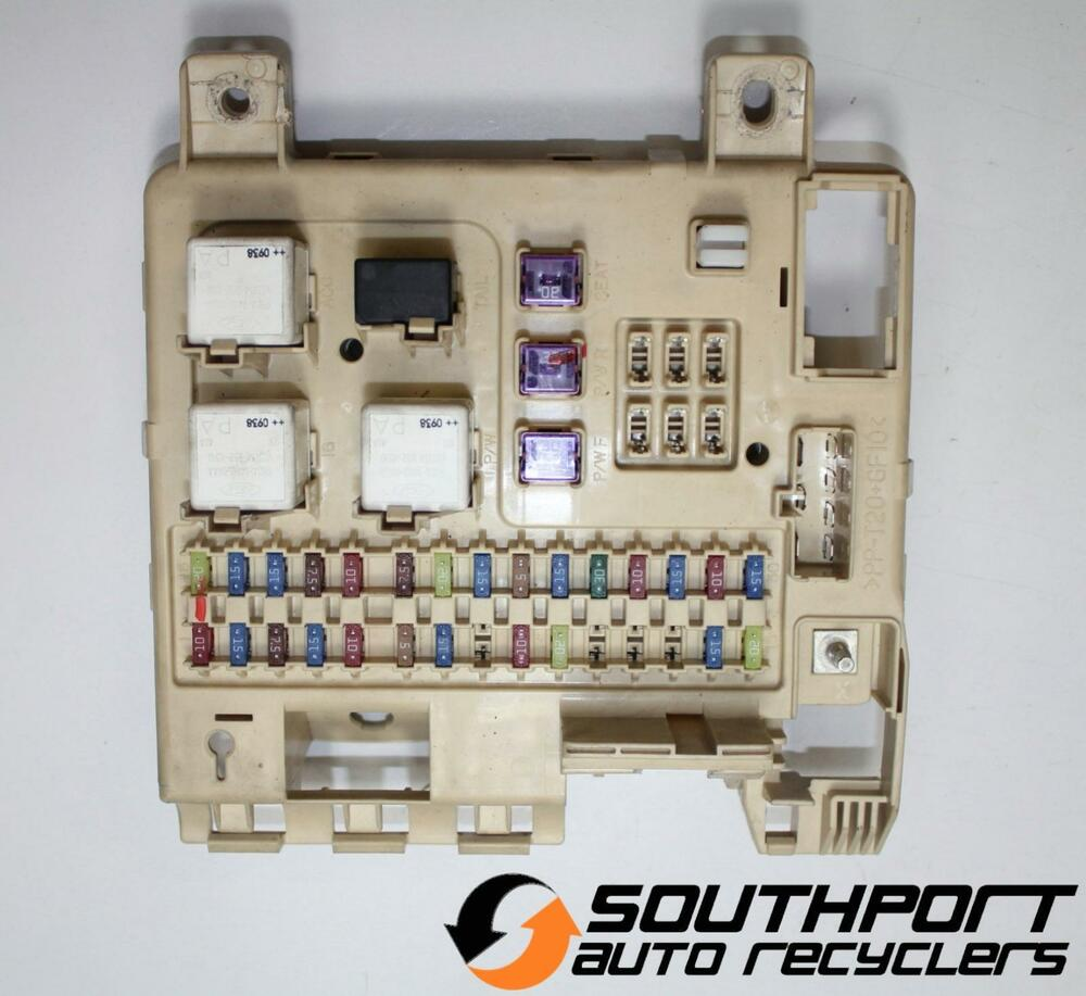 International 9200i Fuse Panel Diagram