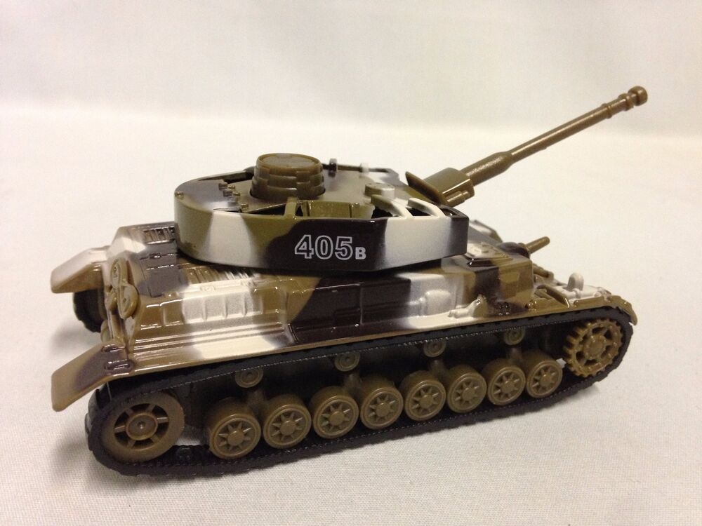 Military army tank run n swing turret die cast pull back action toys br 405b ebay - Army tank pictures ...