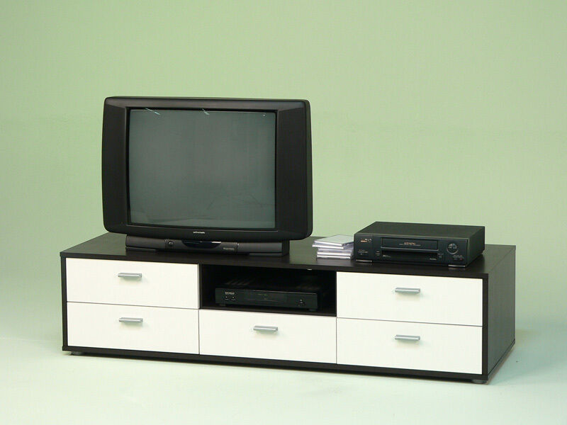 lowboard tv schrank tv element fernsehschrank wenge. Black Bedroom Furniture Sets. Home Design Ideas