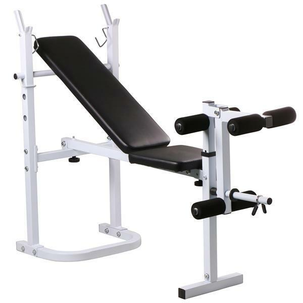 Olympic Folding Weight Bench Incline Lift Workout Training Press Home Ebay