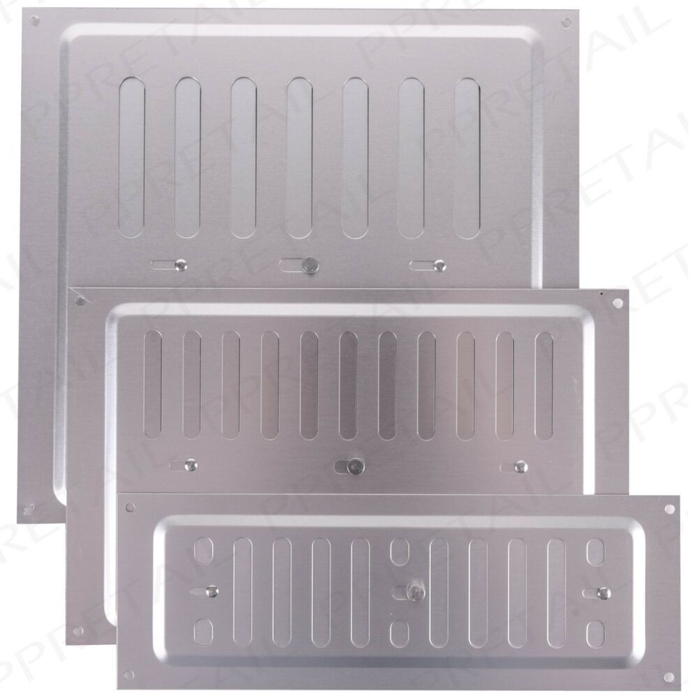 Air Ventilator Wall : Open close adjustable slide metal air vent cover wall