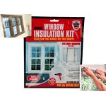 Window Shield Home Heating Draught Insulation Kit Excluder Double Glazing Film
