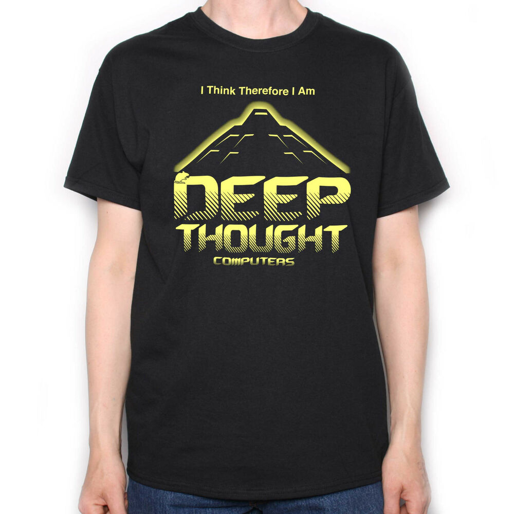 bd0e18c78 Inspired by The Hitchhikers Guide To The Galaxy T shirt - Deep Thought  Computers | eBay