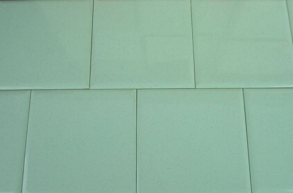 Vtg Nos Sea Foam Terrazzo Speckled Green Plastic Wall