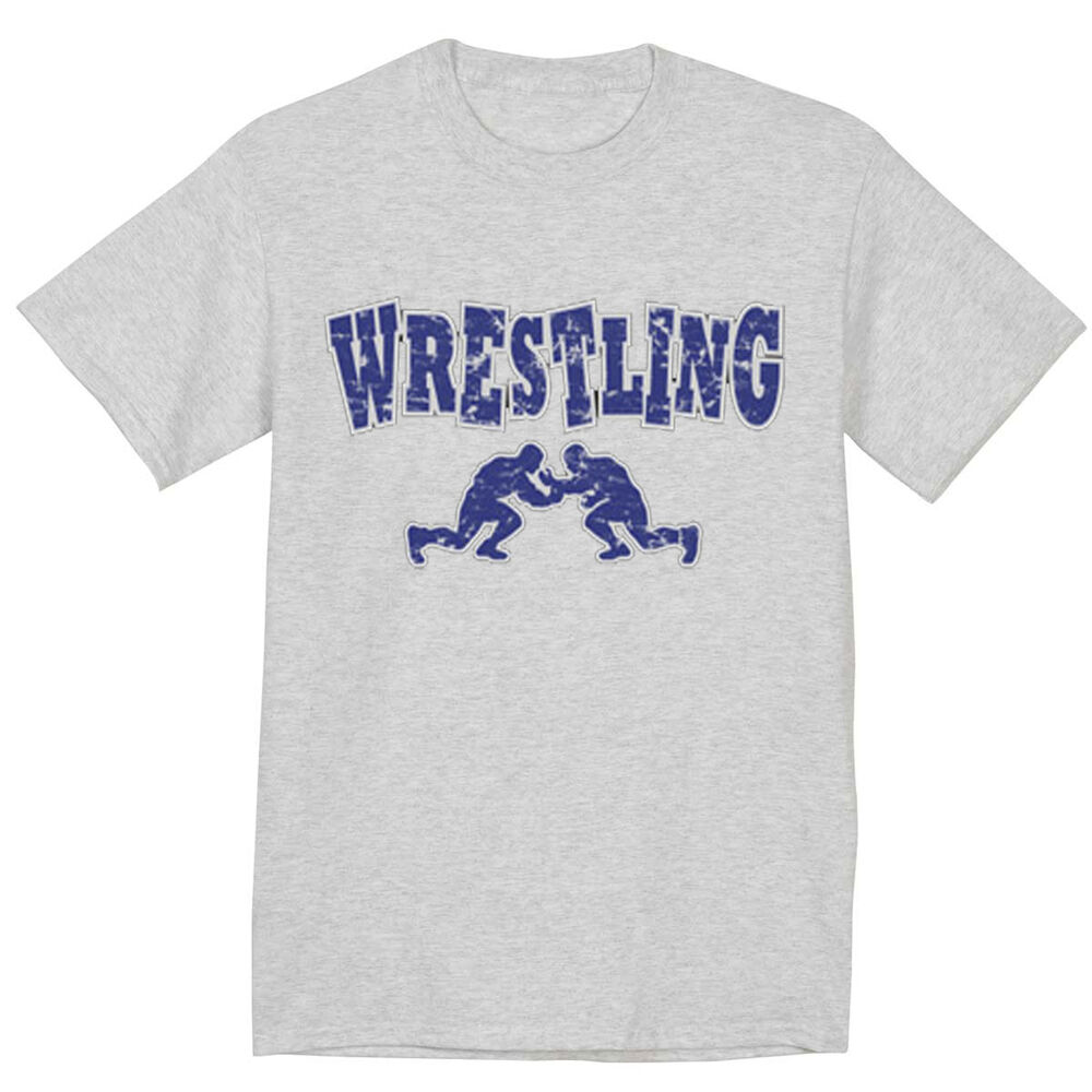 Wrestling Shirt High School College Olympic Wrestling