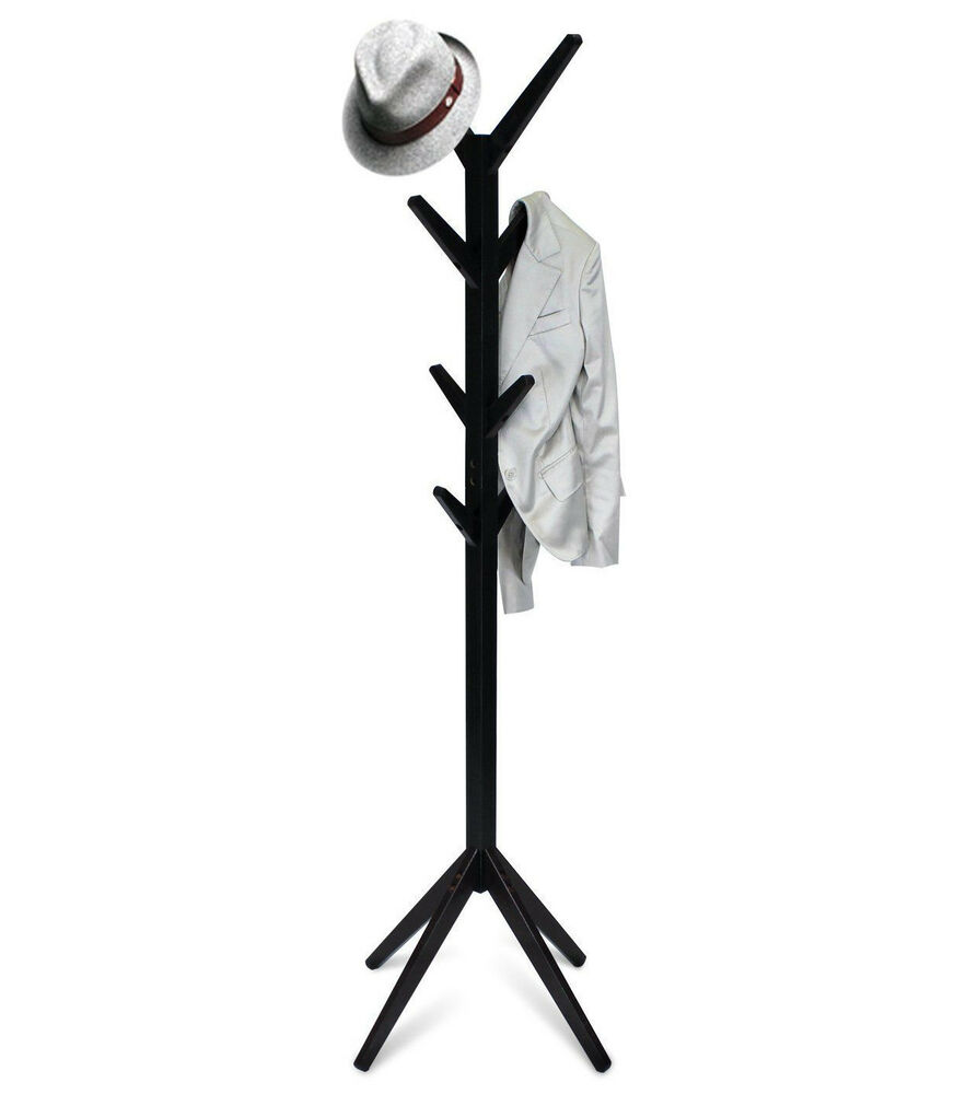 coat hanger stand furinno yaotai tree shaped hat amp coat rack stand espresso 29353