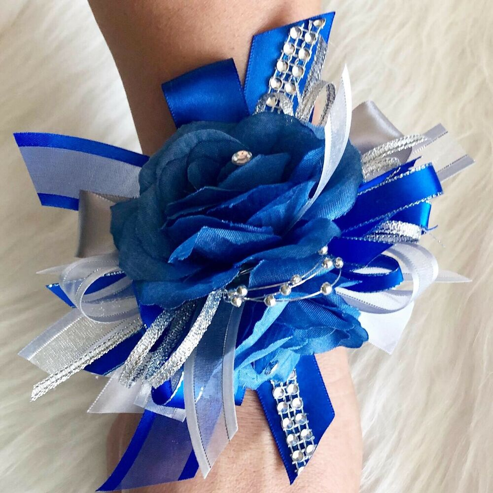 how to put on a wrist corsage