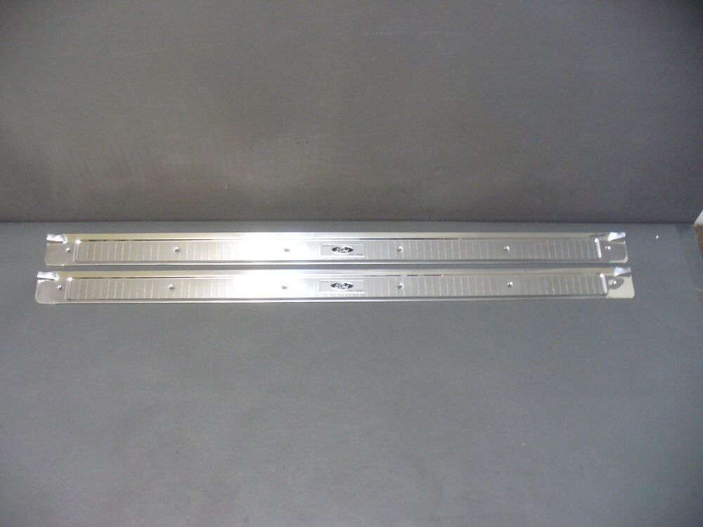 Ford Fairlane Door Sill Plates Scuff 2 Door Falcon Torino