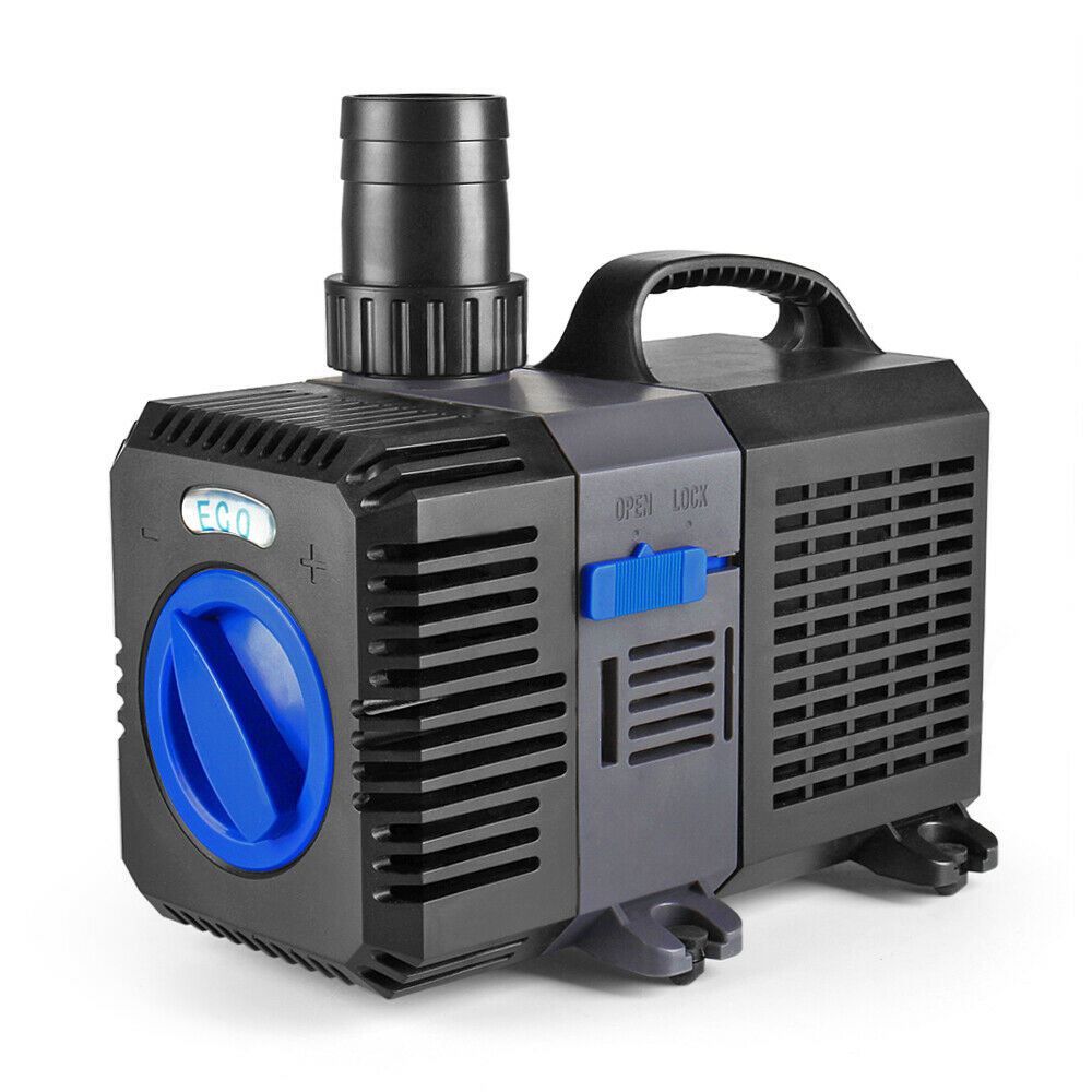 Pond pump 2100gph adjustable submersible inline fountain for Pond pump koi