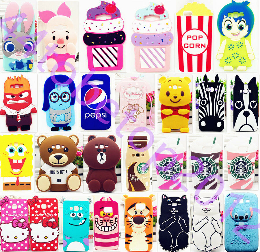 3D Cartoon Disney Silicone Soft Case Cover for Samsung Galaxy A9/8/7/5 ...