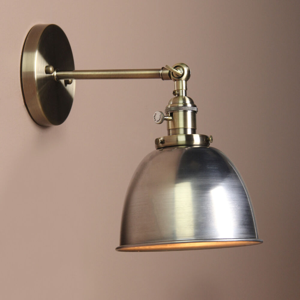 Industrial Style Glass Wall Lights : 6.3