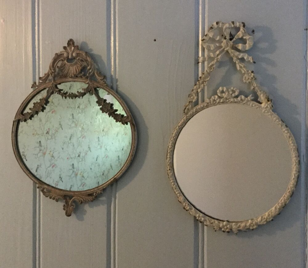 French Antique Chic Style Mirror Shabby Wall Bedroom Hall