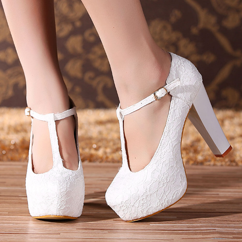 Lovely Collection Of Women Wedding Platform Shoes