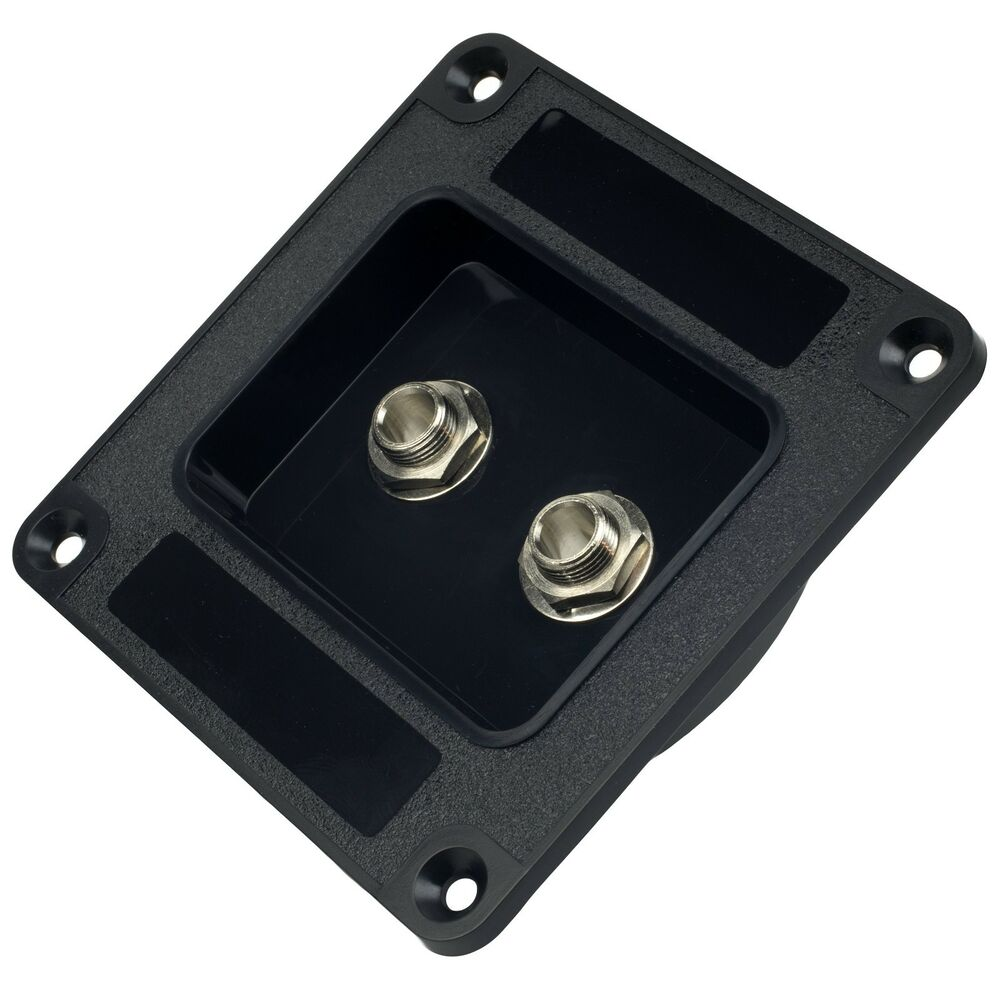 New Recessed Dish Speaker Cabinet Jack Plate W   Dual Switchcraft  11 1  4 U0026quot  Inputs
