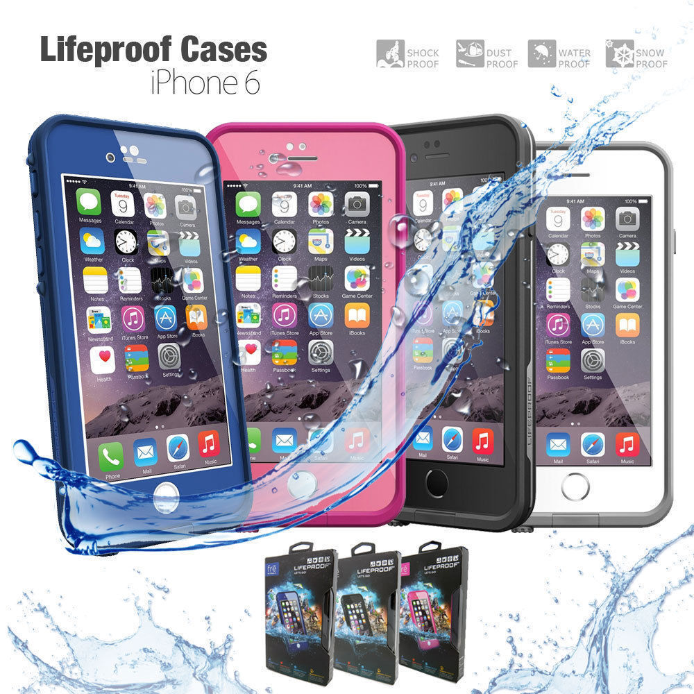 iphone 6 lifeproof case genuine oem lifeproof fre series waterproof for apple 14994