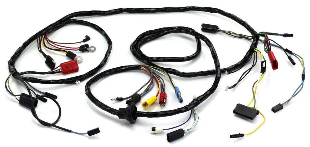 Mustang Head Light Wiring Harness W  O Tach Gt 1967
