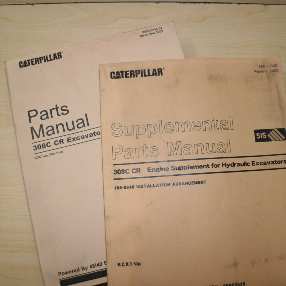 cat 308c cr excavator repair manual