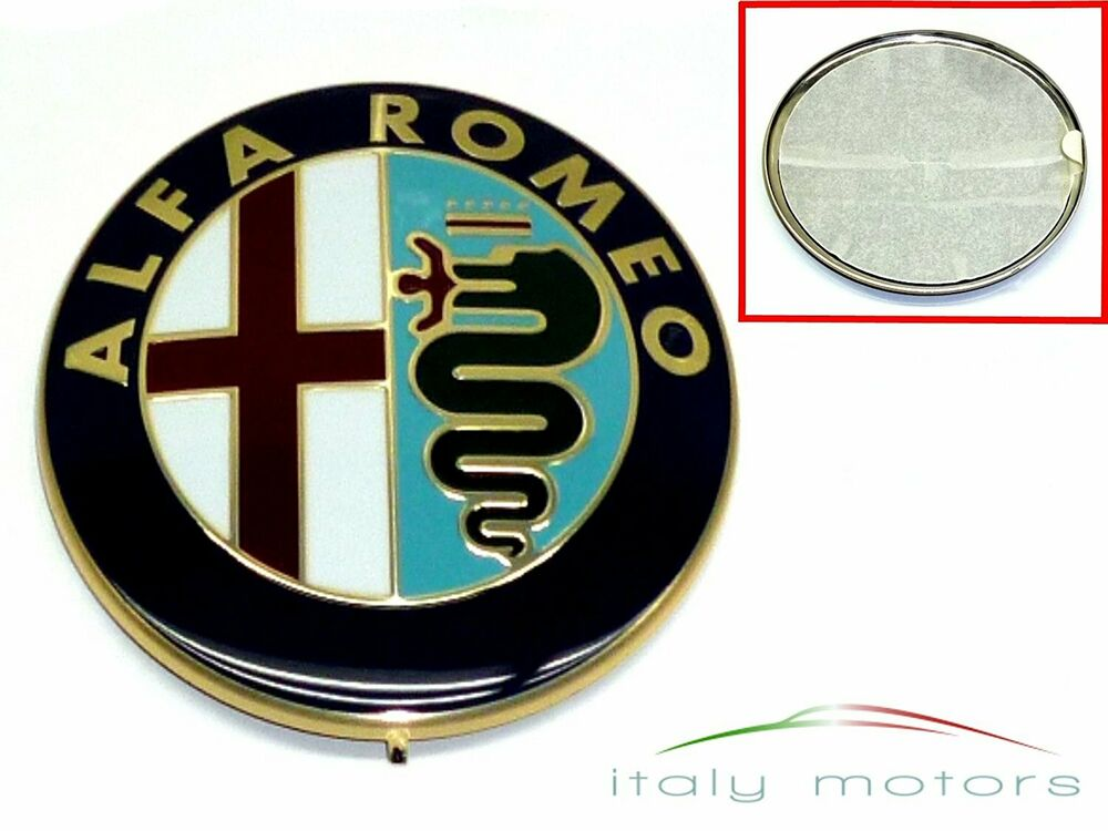 alfa romeo 159 emblem scudetto modellzeichen zum berkleben aufkleber 60690396 ebay. Black Bedroom Furniture Sets. Home Design Ideas