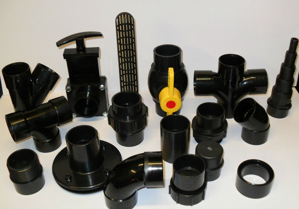 1 5 solvent weld pipe and fittings koi fish pond filter for Pond filter pipe