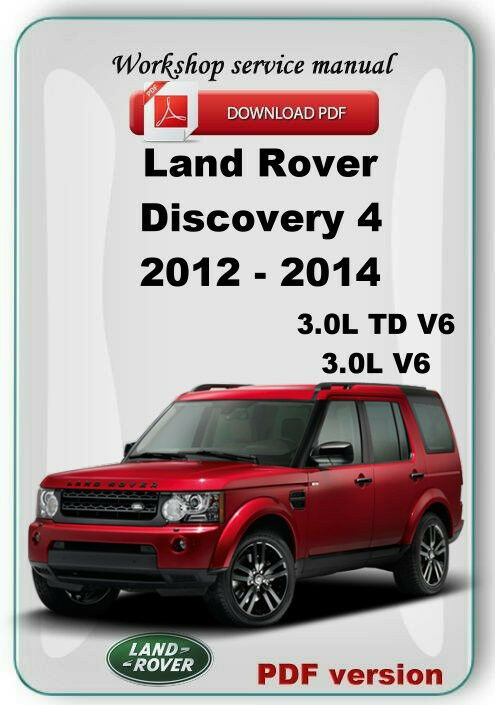land rover discovery 4 lr4 2012 2013 2014 reparaci n manual de rh ebay com Land Rover Discovery Interior 2018 Land Rover Discovery