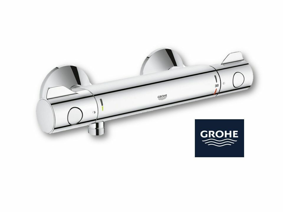 grohe grohtherm 800 thermostat brausearmatur 34558000 aufputz neu ovp ebay. Black Bedroom Furniture Sets. Home Design Ideas