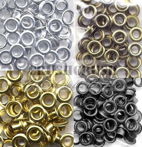 100pcs 7 32 hole metal eyelet grommet card for Decoration hole