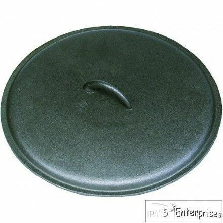 texsport outdoor camping 13 dutch oven cast iron skillet lid 14484 ebay. Black Bedroom Furniture Sets. Home Design Ideas