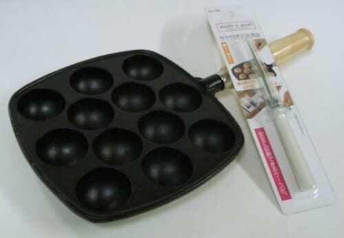 Cast Iron Takoyaki Pan