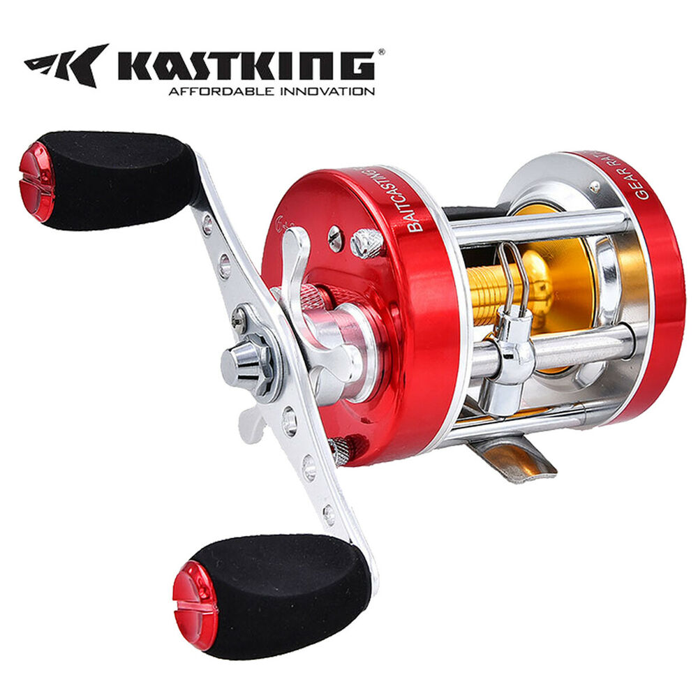 Kastking rover rxa round conventional baitcast reel for Baitcasting fishing reel