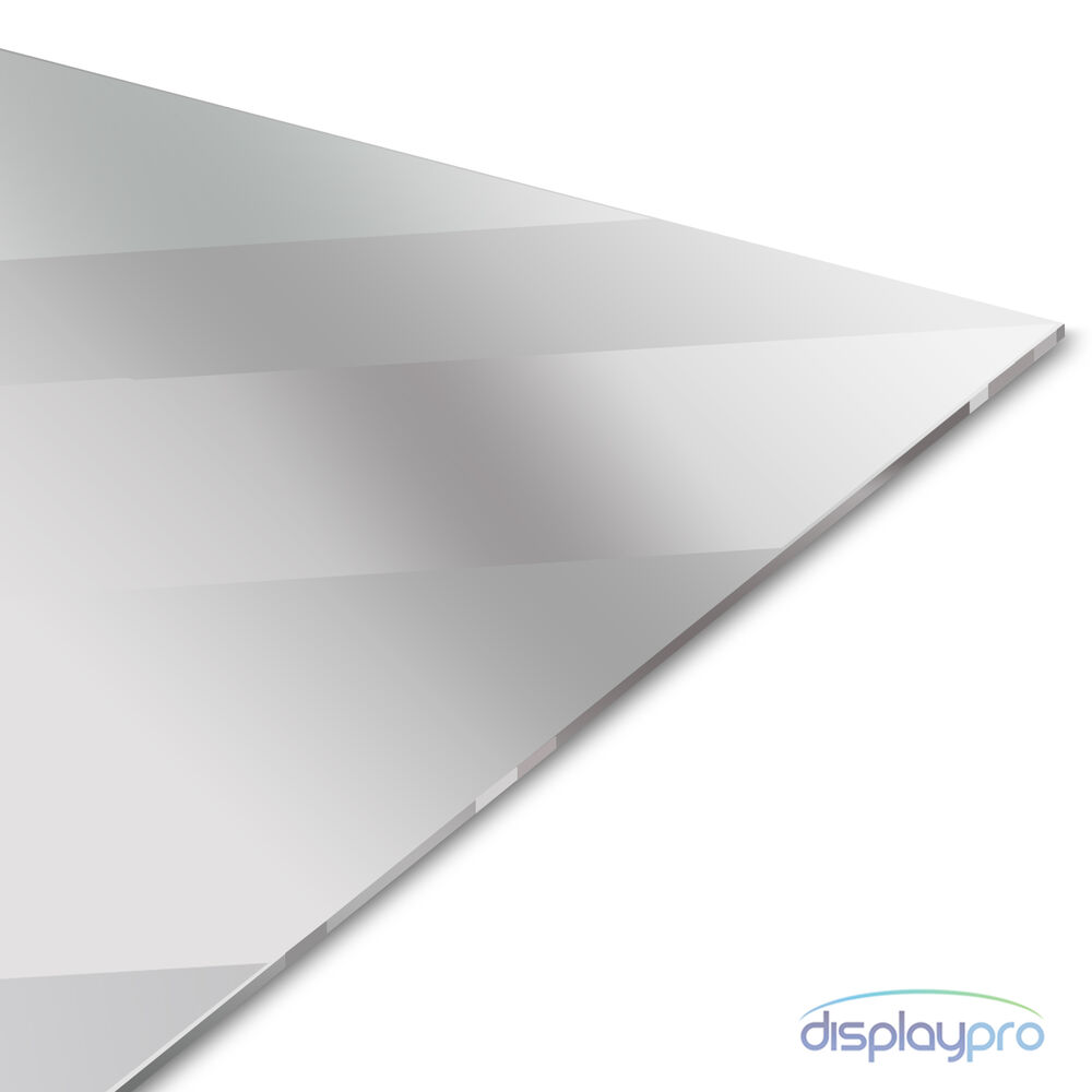 Silver acrylic mirror perspex sheet plastic material panel for Mirror cut to size