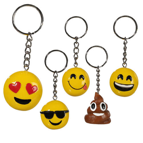 Details about EMOJI EMOTICON KEYRING KEYCHAIN SMILEY FACE CUTE GIFT FUNNY  KEYS CHAIN ICONS NEW 9fc6a32ef