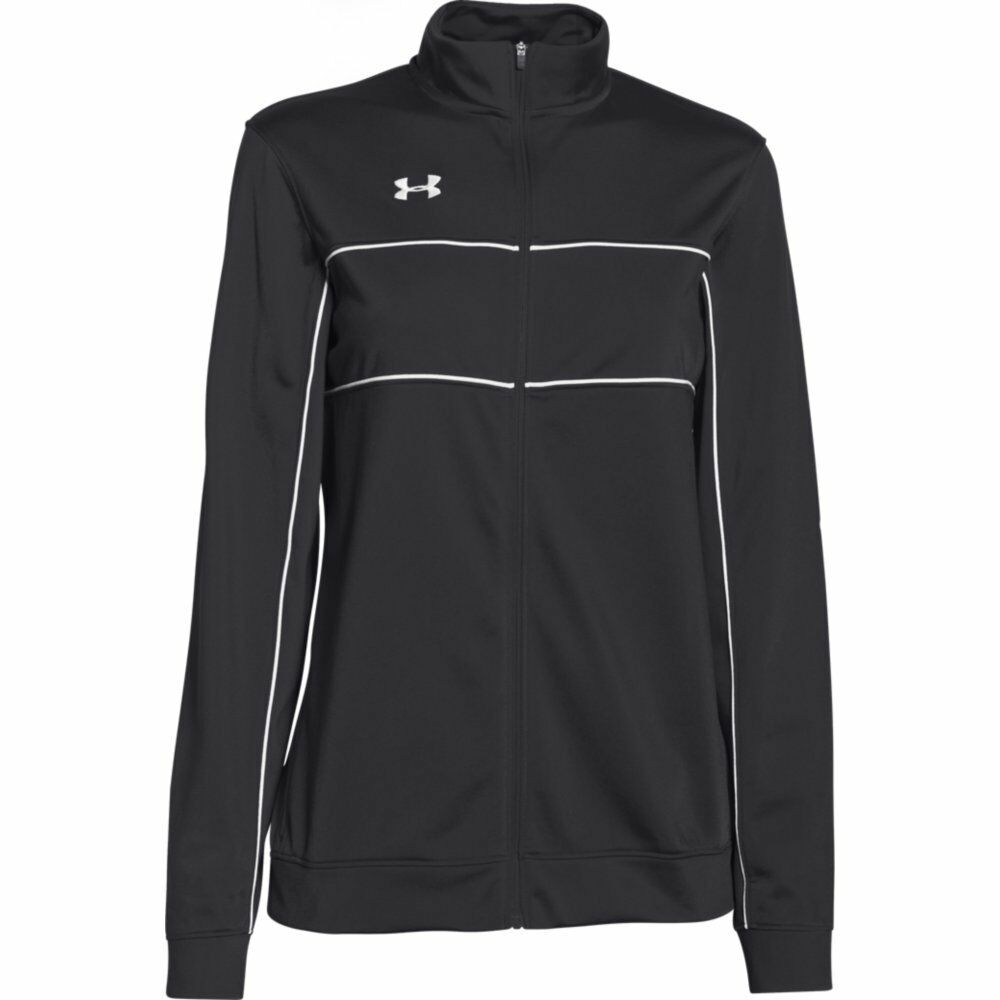 ccf78faea39e Details about New Under Armour Women s UA Rival Knit Warm Up Jacket 1277159