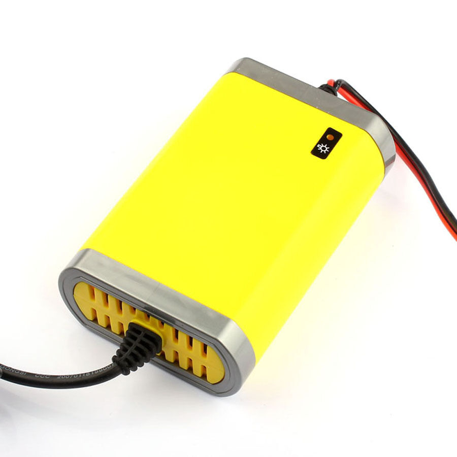 car battery charger motorcycle accessory 12v 2a automatic power supply us plug ebay. Black Bedroom Furniture Sets. Home Design Ideas