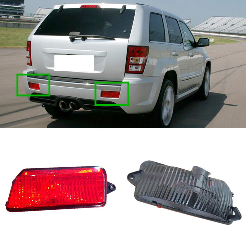 Reflector Housing Lamp Tail Bumper Fog Lights For Jeep