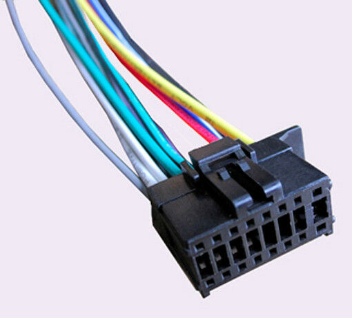 s l1000 wiring harness fits pioneer deh x16ub, deh x1710ub, deh x1810ub Pioneer Wiring Harness Color Code at aneh.co
