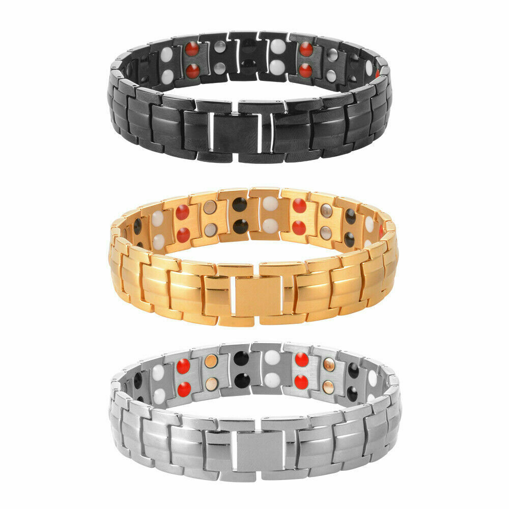 power bracelet titanium magnetic energy germanium armband power bracelet 9069
