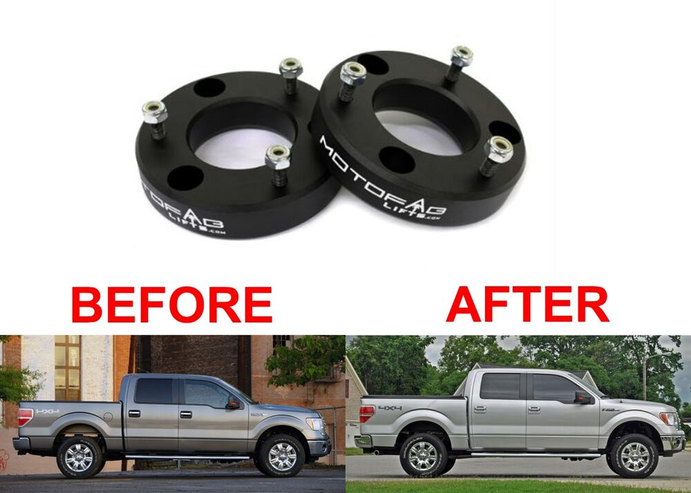 "MotoFab 2"" Leveling Kit For 2004-2014 Ford F-150 Spacers ..."