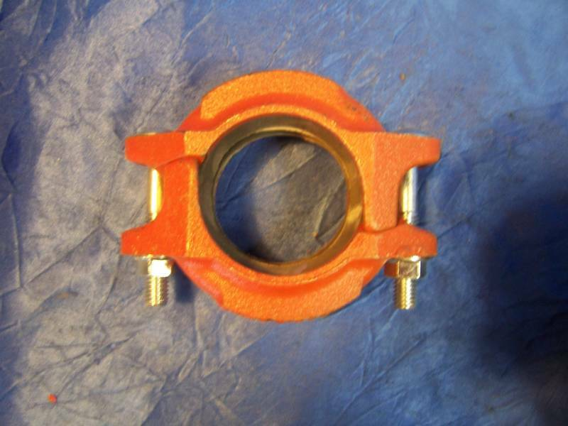 Victaulic quot h gasket clamp fitting pipe joint