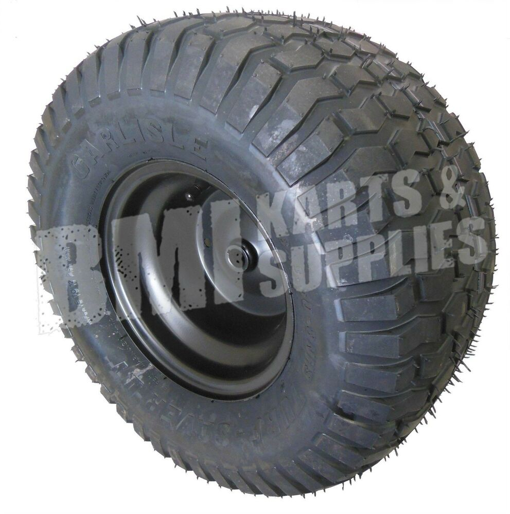 Lawn And Garden Tractor Tires : New lawn mower garden tractor tire rim wheel