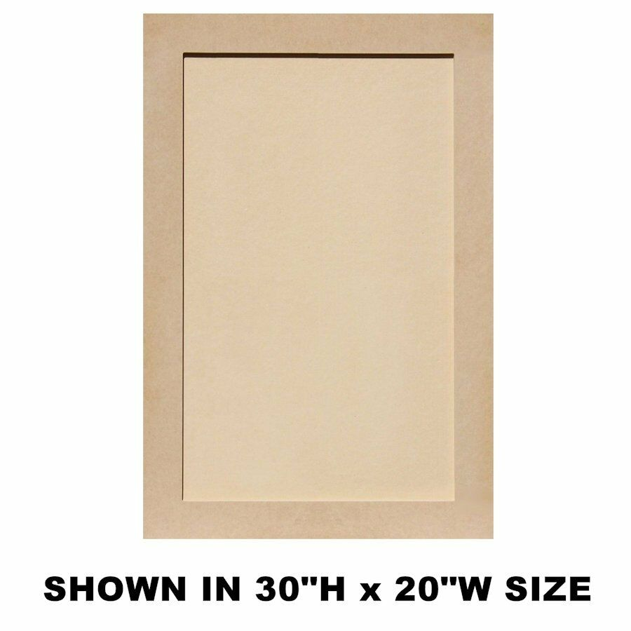 Unfinished Mdf Shaker Cabinet Doors 25 H And Up Ebay