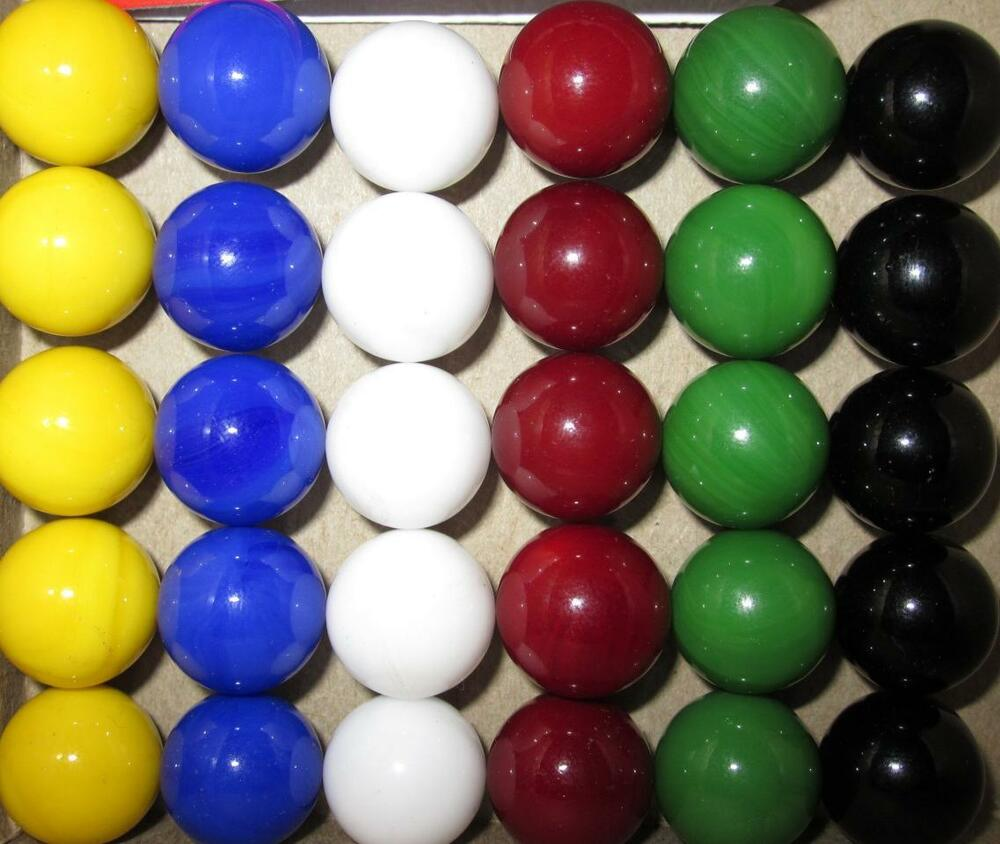 Solid Color Marbles : New solid color replacement marbles wahoo aggravation