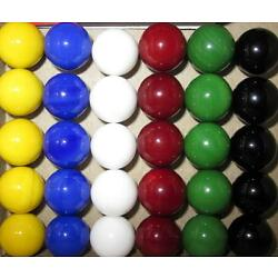 Kyпить 30 Solid Color Replacement Marbles Chinese Aggravation Dirty Game 14mm GLASS на еВаy.соm