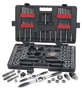 Gearwrench 82812 114 Piece Combination Tap And Die Set