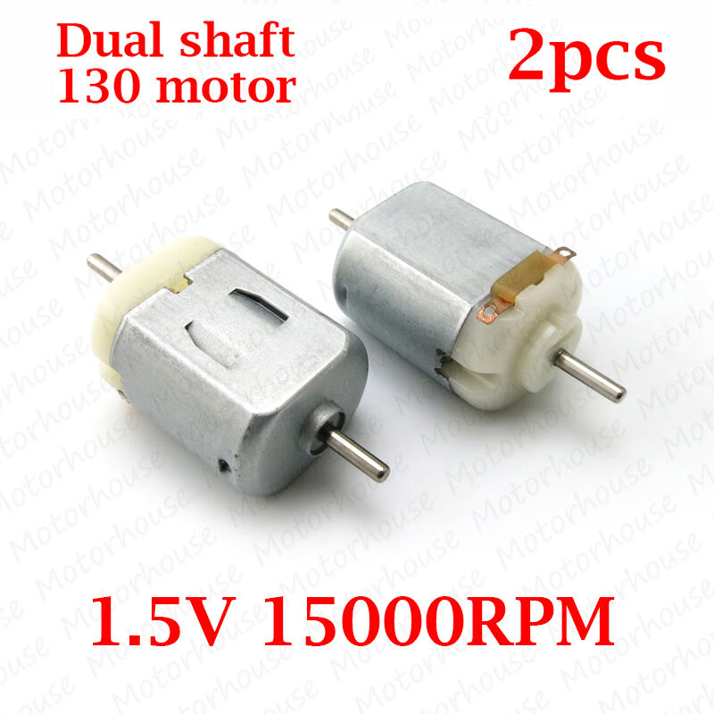 2pcs dc 3v 15000rpm dual shaft strong magnetic carbon for Small electric motor brushes