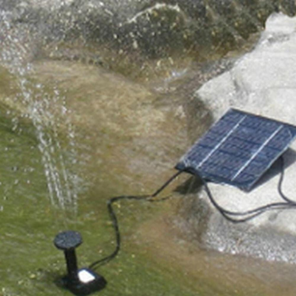 Solar powered garden fountain pond pool water submersible for Pond water pump