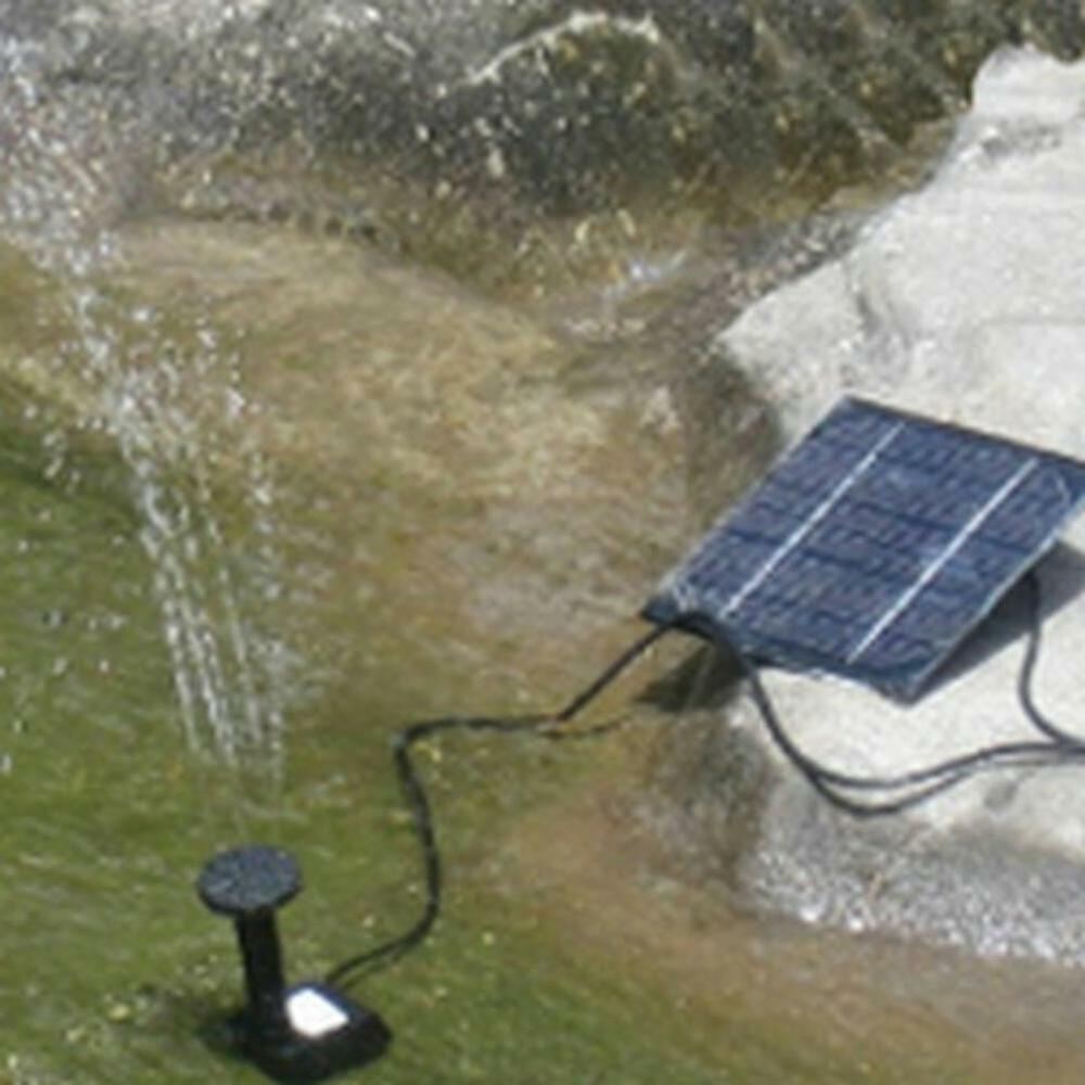 solar powered garden fountain pond pool water submersible ForSolar Water Pump Pond