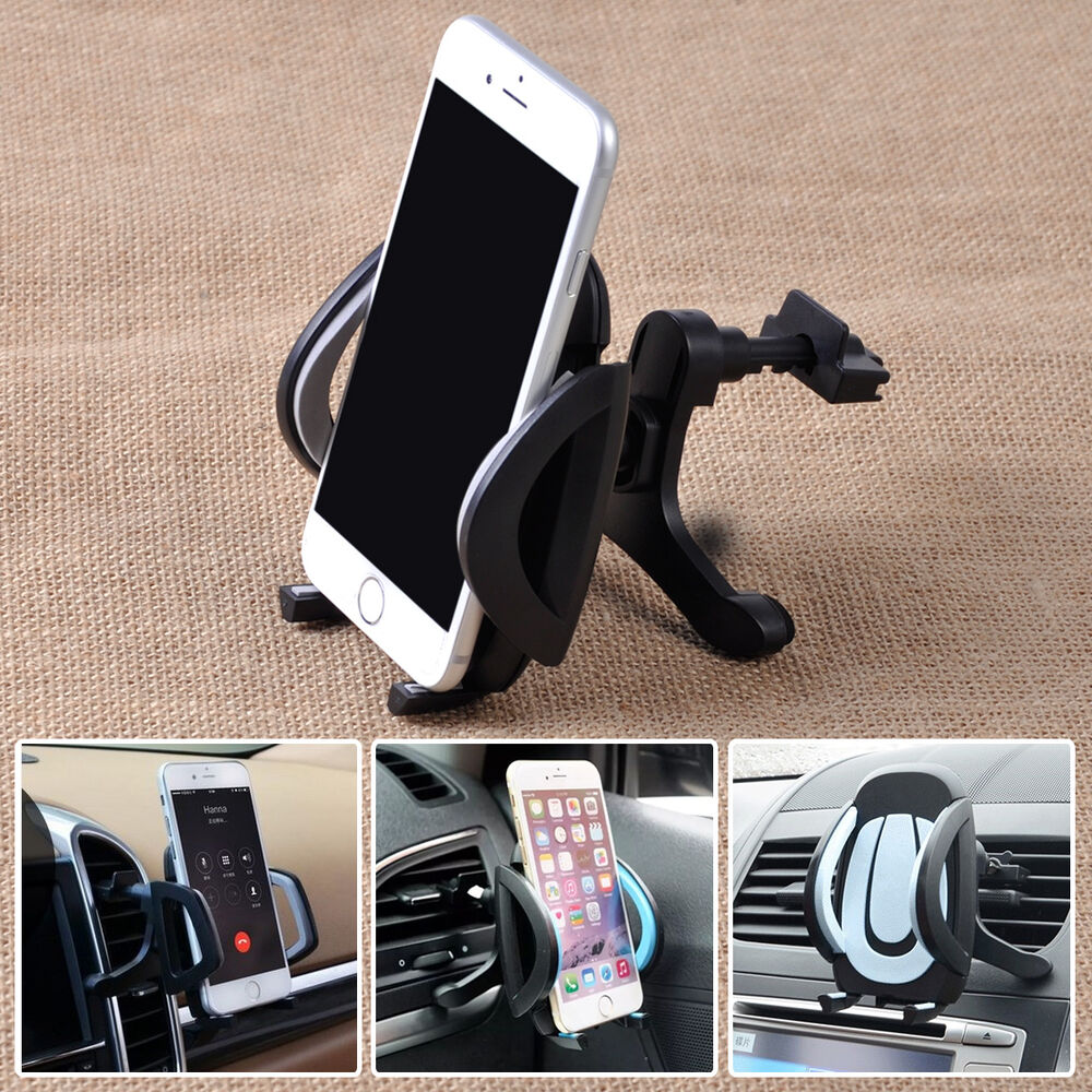 360 Car Air Vent Cradle Mount Holder Stand For Iphone
