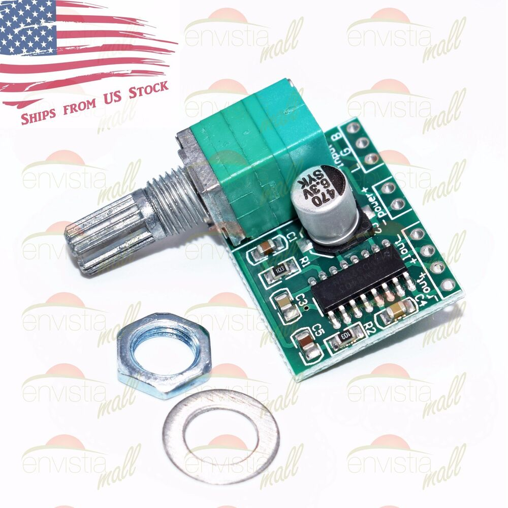 Pam8403 3w Stereo Audio Power Amplifier Board Module With Volume Circuit On Vintage Cigar Box Control Pot Us 732387202141 Ebay