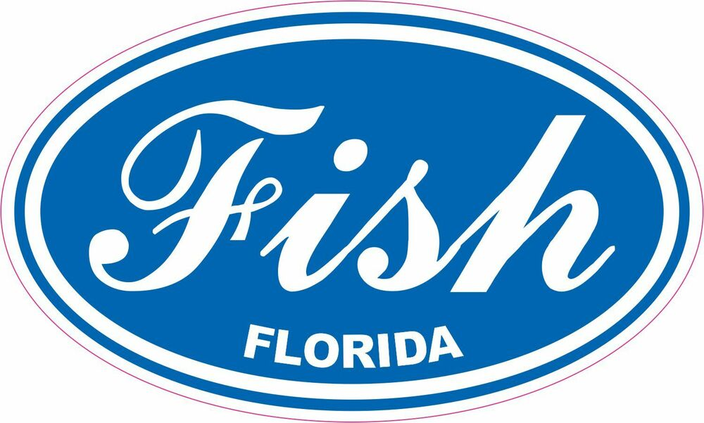 Fish florida fishing vinyl sticker decal saltwater free for Free fishing stickers