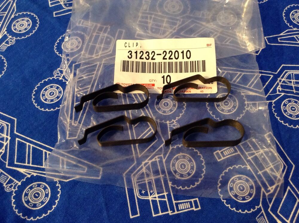 Throw Out Bearing >> Toyota Corolla Celica AE86 T & W Series Transmission Clutch Fork Clips Pair TRD | eBay